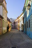 Sighisoara Colorful Streets