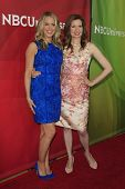 PASADENA - APR 8: Jessica St Clair, Lennon Parham at the NBC/Universal's 2014 Summer Press Day held