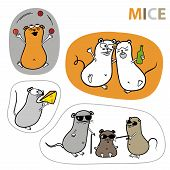 Mouse Stickers