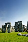 stock photo of stonehenge  - Stonehenge monument taken at Wiltshire - JPG