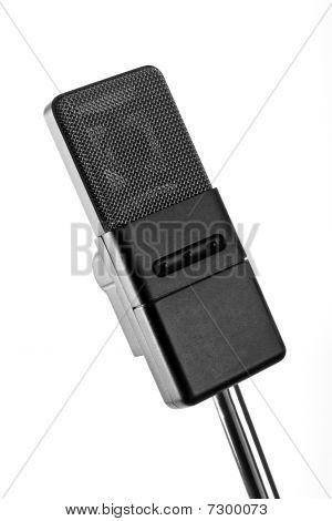 A Classic Retro Microphone