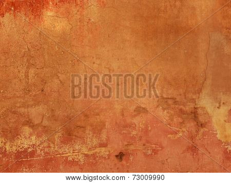 Grunge texture - terracotta background