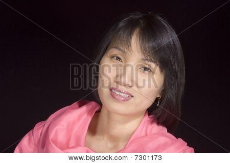 Portrait of Korean woman