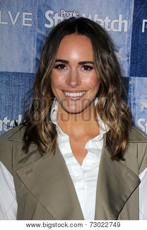 LOS ANGELES - SEP 18:  Louise Roe at the People Stylewatch Hosts Hollywood Denim Party at The Line on September 18, 2014 in Los Angeles, CA