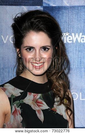 LOS ANGELES - SEP 18:  Laura Marano at the People Stylewatch Hosts Hollywood Denim Party at The Line on September 18, 2014 in Los Angeles, CA