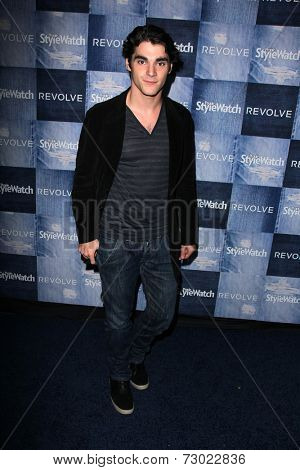 LOS ANGELES - SEP 18:  RJ Mitte at the People Stylewatch Hosts Hollywood Denim Party at The Line on September 18, 2014 in Los Angeles, CA