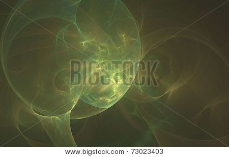 Crab nebula- the abstract illustration