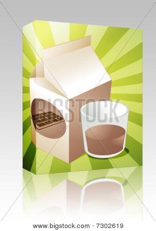 Chocolate Milk Box Package