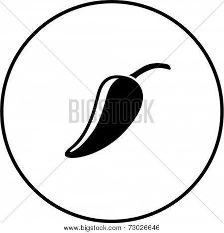 jalapeno pepper symbol