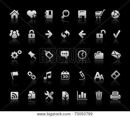 Website & Internet Icons // Black Basics