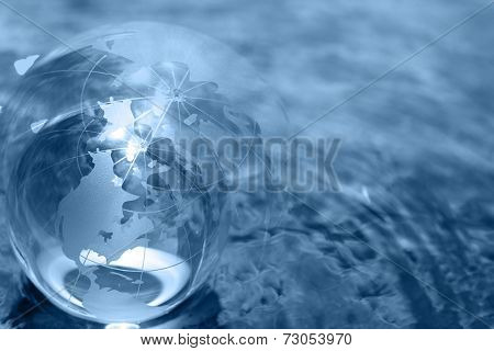 business concept globe