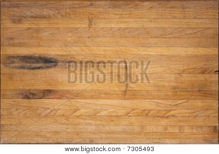 Aged Butcher Block Cutting Board