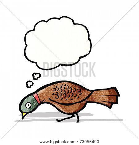 cartoon grouse