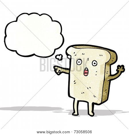 shocked sliced bread cartoon character