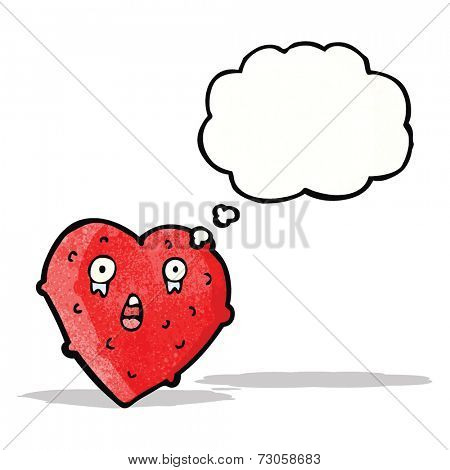 cartoon funny love heart