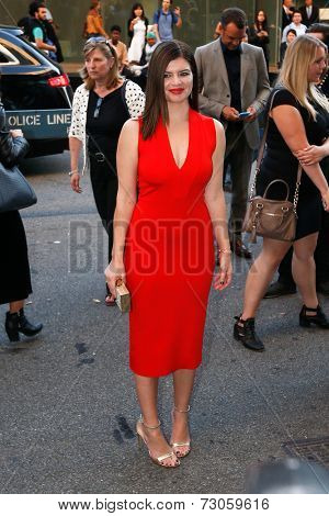 NEW YORK-SEP 26: Actress Casey Wilson attends the world premiere of