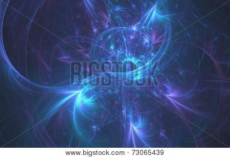 Nebular clouds in furthest universe