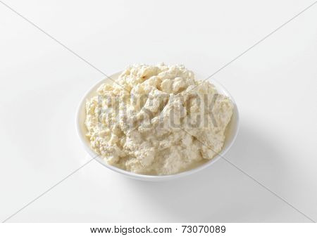 Grated horseradish combined with salad dressing or mayonnaise