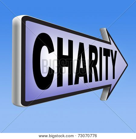 give charity help to raise funds for a good cause giving a money gift donation