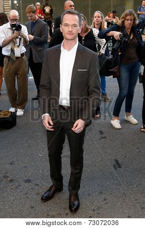 NEW YORK-SEP 26: Actor Neil Patrick Harris attends the world premiere of