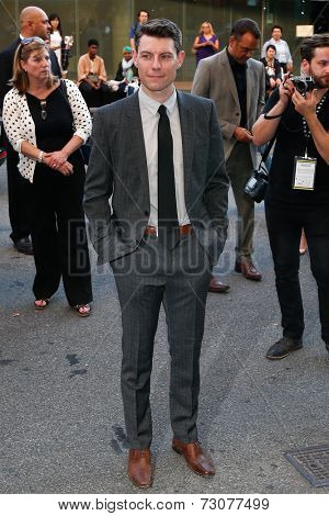 NEW YORK-SEP 26: Actor Patrick Fugit attends the world premiere of