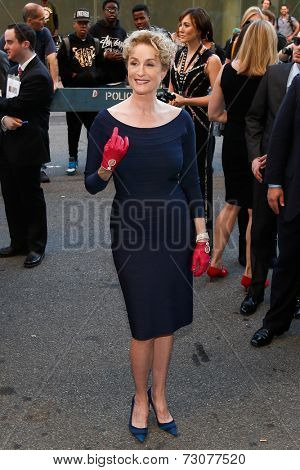 NEW YORK-SEP 26: Actress Lisa Banes attends the world premiere of