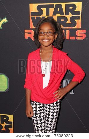 LOS ANGELES - SEP 27:  Marsai Martin at the