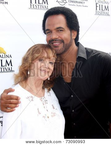 AVALON - SEP 26:  Maria St John, Kristoff St. John at the