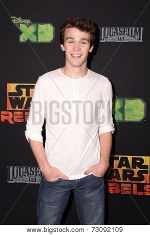 LOS ANGELES - SEP 27:  Peyton Clark at the