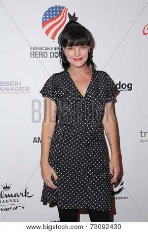 LOS ANGELES - SEP 27:  Pauley Perrette at the Hero Dog Awards at Beverly Hilton Hotel on September 27, 2014 in Beverly Hills, CA