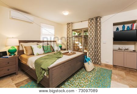 Bedroom in Contemporary Home, Interior Design