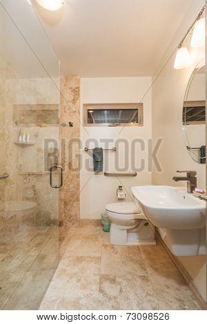 Bathroom in Contemporary Home, Interior Design