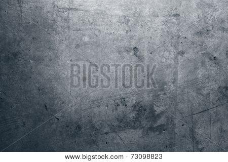 Closeup of grey grunge wall