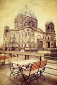 pic of dom  - Vintage Berlin Cathedral Church - JPG
