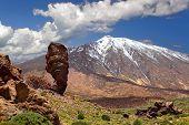 picture of volcanic  - Pico del Teide - JPG