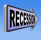 stock photo of stock market crash  - recession  in world economy crisis bank and stock crash economic and financial bank recession market crash - JPG