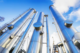 stock photo of gas-pipes  - giant gas - JPG