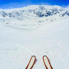 picture of italian alps  - Skiing  - JPG