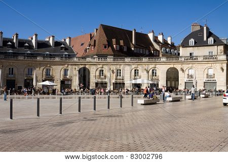 The Liberation Square In Dijon, France