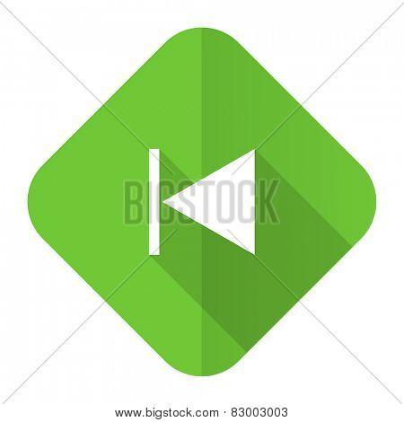 previous flat icon