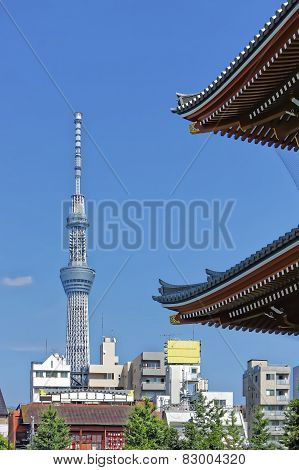 View Of Asakusa Tower