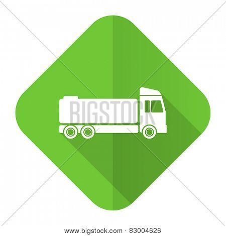 truck flat icon cargo sign