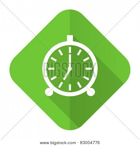 alarm flat icon alarm clock sign