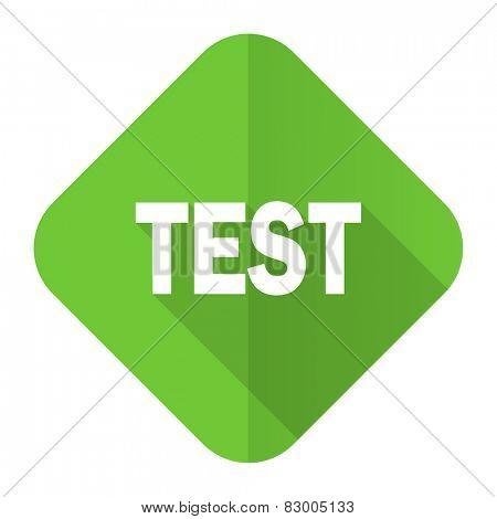 test flat icon