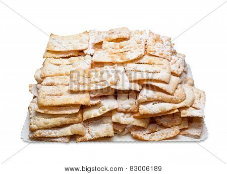 Chiacchiere Or Frappe Italian Fried Pastries