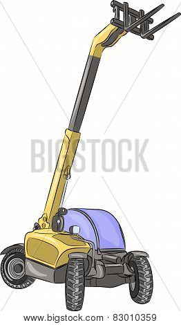 Vector Telescopic Loader.