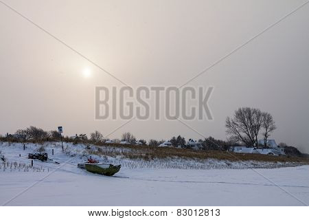 Ahrenshoop In Winter
