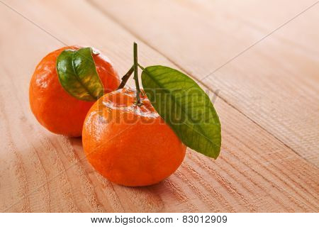 Fresh Orange Isolated.