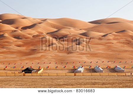 The Moreeb Dunes in Abu Dhabi