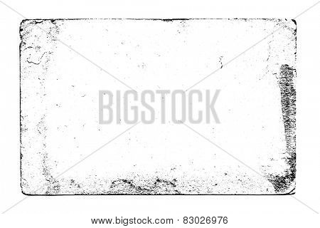 Black and white vector grunge texture. For creating grunge illustrations. Texture background